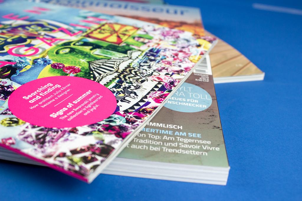 Zeitschriften und Magazine Druckerei Berger Horn