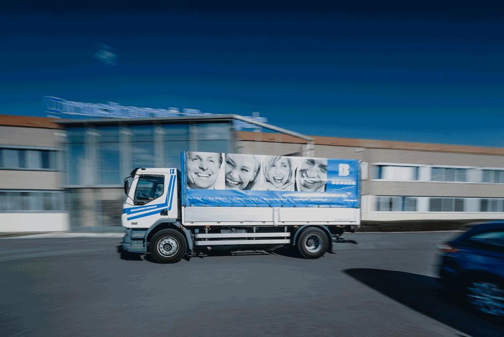 Druckerei Berger Versand und Logistik
